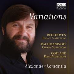 Alexander Korsantia: Variations: Beethoven, Rachmaninoff. Copland