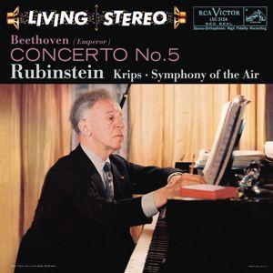 """Arthur Rubinstein: Beethoven: Piano Concerto No. 5 in E-Flat Major, Op. 73 """"Emperor"""""""
