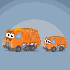 Sing Kinderlieder & EMMALU: Der Müllauto-Song (Tut-Tut)