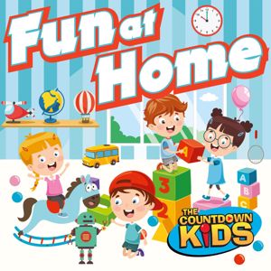 The Countdown Kids: Fun at Home: 20 Playful Songs For Indoors