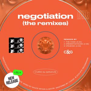 CVIRO, GXNXVS: Negotiation (CRUSH3d Remix)