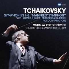 Mstislav Rostropovich: Tchaikovsky: Variations on a Rococo Theme, Op. 33: Variation I - Tempo della Thema