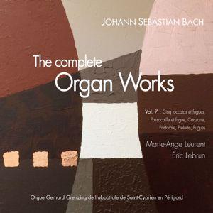Marie-Ange Leurent & Eric Lebrun: Bach, the complete organ works Vol. 7: toccatas et fugues, 8 petits préludes et fugues, Canzona, Pastorale
