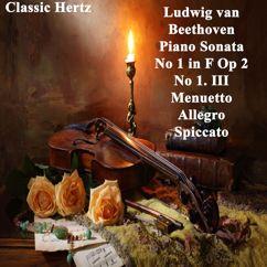 Classic Hertz: Piano Sonata No 1 in F, Op. 2 No 1. III Menuetto Allegro Spiccato