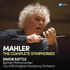 Sir Simon Rattle: Mahler: Symphony No. 9 in D Major: II. Im Tempo eines gemächlichen Ländlers. Etwas täppisch und sehr derb