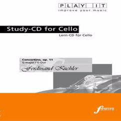 Various Artists: PLAY IT - Study-CD for Cello: Ferdinand Küchler, Concertino, op. 11, G major / G-Dur