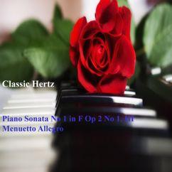 Classic Hertz: Piano Sonata No 1 in F, Op. 2 No 1. III Menuetto Allegro