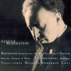 "Arthur Rubinstein: Rubinstein Collection, Vol. 11: Beethoven: Piano Sonata Op. 81a ""Les Adieux"" - Franck - Villa-Lobos - Szymanowski - Milhaud - Gershwin - Liszt - Schubert"