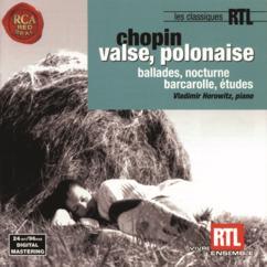 Vladimir Horowitz: Chopin: Valse, Polonaise: Ballades, Nocturnes, Barcarolle, Études