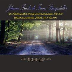 Jean Christian Gallois with Vasilie Czer: Johann Friedrich Franz Burgmüller - 25 études faciles et progressives pour Piano, Op. 100