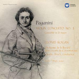 Leonid Kogan: Paganini: Violin Concerto No. 1, Op. 6 & Cantabile, Op. 17