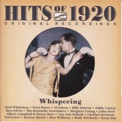 Paul Whiteman: Hits Of The 1920S, Vol. 1 (1920): Whispering