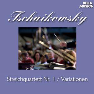 International String Quartet New York, Laszlo Varga, Stuttgarter Philharmoniker: Tschaikowsky: Streichquartett Op. 11 - Variationen über ein Rokoko, Op. 33
