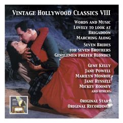 Various Artists: Vintage Hollywood Classics, Vol. 8: Original Stars & Original Soundtracks. Seven Brides for Seven Brothers, Words and Music, Lovely to Look at, Gentlemen Prefer Blondes, Kismet, Marching Along & Others