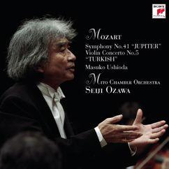 """Seiji Ozawa: Seiji Ozawa & Mito Chamber Orchestra Mozart Series 3 Mozart: Symphony No.41 """"JUPITER"""" & Violin Concerto No.5 """"TURKISH"""""""
