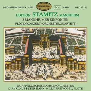 "Kurpfalz Chamber Orchestra, Klaus-Peter Hahn: Sinfonia No. 3 in B-Flat Major, Wols I. Bb-4 ""Mannheim Symphony"": I. Allegro"