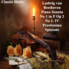 Classic Hertz: Piano Sonata No 1 in F, Op. 2 No 1. IV Prestissimo Spiccato