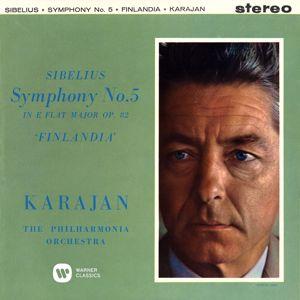 Herbert von Karajan: Sibelius: Symphony No. 5,  Finlandia