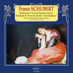 "Orquesta Filarmonica de Alemania: Schubert: Sinfonía No. 5, D. 485 - Sinfonía No. 8, D. 759, ""Inacabada"""