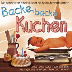 Spieluhrmelodien: Backe backe Kuchen