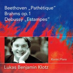 Lukas Benjamin Klotz: Beethoven Brahms Debussy