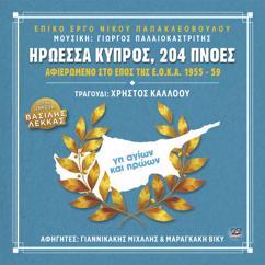 Χρήστος Κάλλοου: Ηρωέσσα Κύπρος, 204 Πνοές