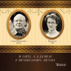 Gerard Parmentier & Mona Lou: 4 Pieces for Cello and Piano, Op. 24: IV. Mazurka