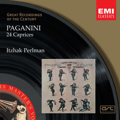 Itzhak Perlman: Paganini: 24 Caprices for solo violin