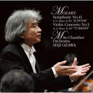 """Seiji Ozawa: Mozart:Symphony No.41 """"Jupiter"""",Violin  Concerto No.5 """"Turkish"""""""