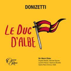 """Mark Elder: Donizetti: Le duc d'Albe, Act 2: """"Plus bas! plus bas!"""" (Hélène d'Egmont, Henri de Bruges, Daniel Brauer)"""