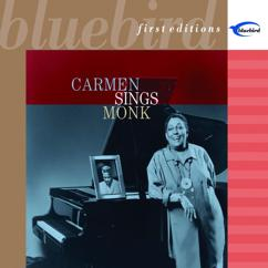 Carmen McRae: Listen To Monk (Remastered 2001)