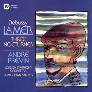 André Previn: Debussy: La Mer, CD 111, L. 109: I. De l'aube à midi sur la mer