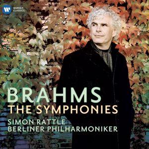 Sir Simon Rattle/Berliner Philharmoniker: Brahms: Symphonies Nos 1-4