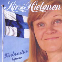 Kirsi Hietanen: Finlandia-hymni