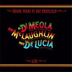 Al Di Meola, John McLaughlin and Paco de Lucía: Fantasia Suite (Live at Warfield Theatre, San Francisco, CA - December 1980)