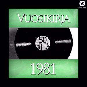 Various Artists: Vuosikirja 1981 - 50 hittiä