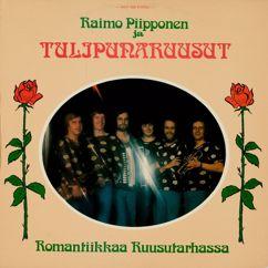Tulipunaruusut ja Raimo Piipponen: Romantiikkaa ruusutarhassa