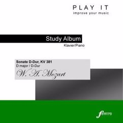 Denette Whitter: Play It - Study Album - Piano; Wolfgang Amadeus Mozart: Sonata for Piano Four-Hands in D Major, K. 381/123A