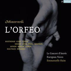 "Emmanuelle Haïm/Le Concert d'Astrée/Christopher Maltman/Pascal Bertin/Paul Agnew/Richard Burkhard: Monteverdi: L'Orfeo, favola in musica, SV 318, Act 2: Ritornello - ""Qui le Napee vezzose"" (Pastori II, III) - ""Dunque fa' degni Orfeo"" (Ninfe, Pastori)"