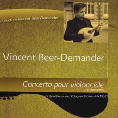 Vincent Beer-Demander, Pablo Tognan & Ensemble MG21: L'âme de fond, concerto pour violoncelle, 1er mouvement