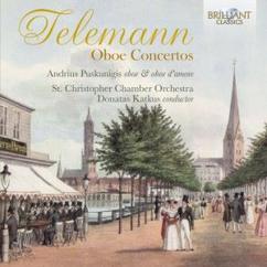 St. Christopher Chamber Orchestra, Donatas Katkus & Andrius Puskunigis: Telemann: Oboe Concertos