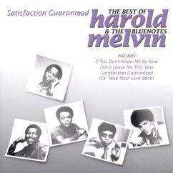 Harold Melvin & The Blue Notes: Satisfaction Guaranteed - The Best Of Harold Melvin & The Bluenotes