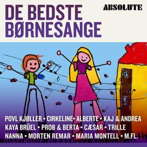 Various Artists: Absolute De Bedste Børnesange