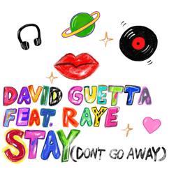 David Guetta: Stay (Don't Go Away) [feat. Raye]