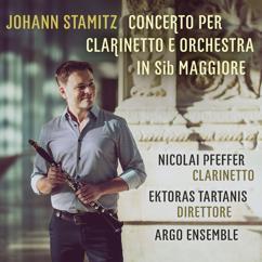Nicolai Pfeffer & Ektoras Tartanis with Argo Ensemble: Johann Stamitz: Concerto per clarinetto e orchestra in sib maggiore