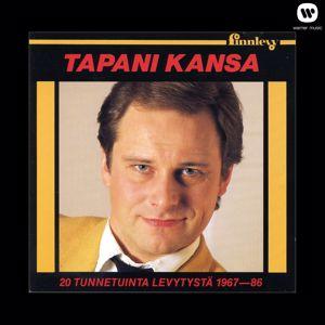 Tapani Kansa: 20 tunnetuinta levytystä 1967-1986