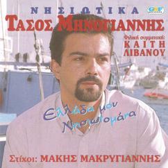 Τάσος Μηνογιάννης: Ελλάδα μου νησιωτομάνα
