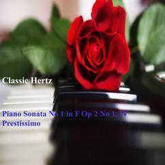 Classic Hertz: Piano Sonata No 1 in F, Op. 2 No 1. IV Prestissimo