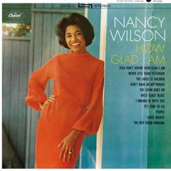 Nancy Wilson: How Glad I Am