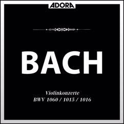Various Artists: Bach: Konzert, BWV 1060 - Sonate No. 2, BWV 1051 - Sonate No. 3, BWV 1016